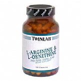 L-arginine and L-ornithine 100cp